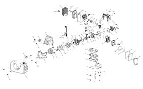Катушка зажигания в сборе генератора FUBAG BS 1000 i №64