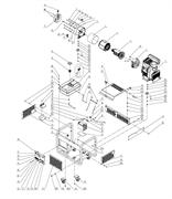 Крышка топливного бака генератора FUBAG DS 14000 DA ES №14