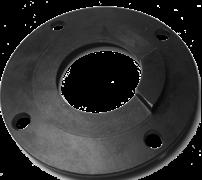 Картер сцепления зубчатого колеса виброблока виброплиты DIAM VMR-115 (Корпус ведомой шестерни)