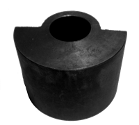 Дебалансный грузик виброблока виброплиты DIAM VMR-115 (Груз ведущего вала)