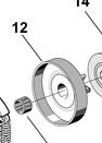 Барабан сцепления бензопилы Alpina P 411