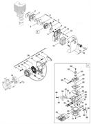 Корпус воздушного фильтра  триммера Alpina VIP 31 (рис 10)