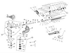 Винт-барашек триммера Baumaster GT-3510X (рис 3)