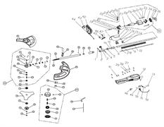 Крепеж триммера Baumaster GT-3510X (рис 15)