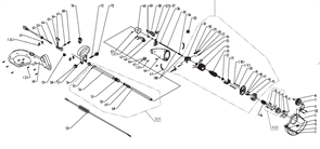 Пластина триммера Baumaster GT-3550X (рис 19)