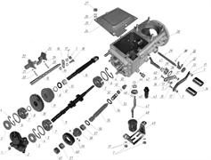 "Вилка 2 и 3 скоростей мотоблока Кадви НМБ-1 ""Угра"" (рис.23)"
