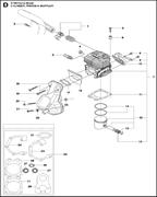 DECOMPRESSION VALVE спасательного бензореза Husqvarna POWER CUTTERS K 770, 2017-11 (9678091-01) (рис.3)