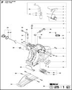 FUEL HOSE спасательного бензореза Husqvarna POWER CUTTERS K 770, 2017-11 (9678091-01) (рис.31)