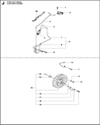 SPARK PLUG CAP спасательного бензореза Husqvarna POWER CUTTERS K 770, 2017-11 (9678091-01) (рис.5)