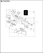 SCREW CRPANT электрического резчика Husqvarna Construction K4000 CnB 9670797-01 (2018-02) (рис.8)