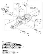 ANTIVIBRATION ELEMENT спасательного бензореза Husqvarna POWER CUTTERS K 770, 2017-11 (9678091-01) (рис.35)
