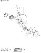 LABEL бензореза Husqvarna POWER CUTTERS K1270, 2016-07 (9670462-01) (рис.12)