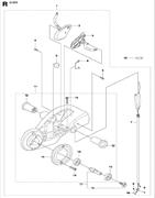 SCREW CRPANT бензореза Husqvarna POWER CUTTERS K1270, 2016-07 (9670462-01) (рис.4)