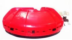 Кожух защитный для триммера под штангу D=26mm под хомут. В комплект входит обрезной нож - фото 102817