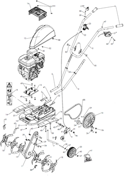 Выключатель культиватора Pubert MB 87 L (рис.17)