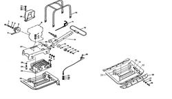 Накладка плиты (доп. опция) виброплиты Champion PC1645RH (рис.36) - фото 103479