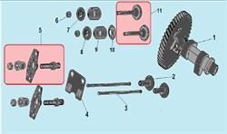 Толкатель (штанга) клапана  двигателя Champion G120HK (рис.3) - фото 104134