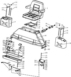 Выключатель затирочной машины Conmec CRT836 (рис.8) - фото 105658
