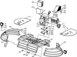 Орех М8 затирочной машины Conmec CRT836 (рис.75) - фото 105717