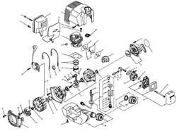 Сцепление триммера Elmos EPT24 (рис. 31)