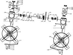 Фланец затирочной машины Conmec CRT836 (рис.120) - фото 105755