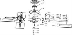 Паутинка затирочной машины Conmec CRT830 (рис.177)