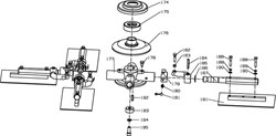 гора затирочной машины Conmec CRT830 (рис.185)