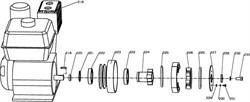 Крышка подшипника затирочной машины Conmec CRT830 (рис.224) - фото 106145