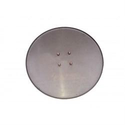 Затирочный диск, диаметр 600мм на 4-х болтах (шпильки) толщина стали 3,0мм (для стяжки)