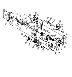 Поршень в сборе триммера MTD 790 (рис. 48)