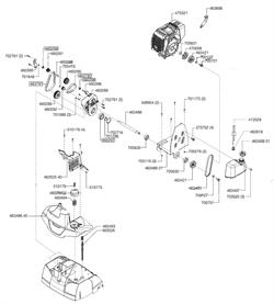 Ручка регулятора высоты среза аэратора Al-Co Comfort 38 VLB Combi-Care (рис.46028602) - фото 12291