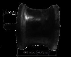 Амортизатор для виброплиты D-60мм для виброплит массой 100-150 кг