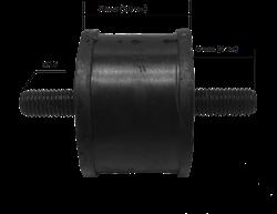 Амортизатор для виброплиты D -100 для виброплит массой 120-200 кг - фото 12756