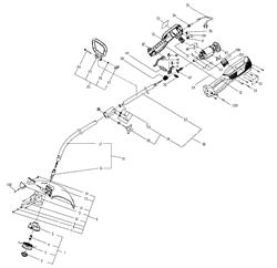 Катушка в сборе триммера Sturm GT3508U (рис. 1)