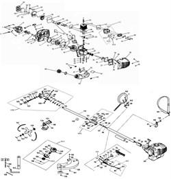 Цилиндр триммера Зубр ЗКРБ-250 (рис. 44) - фото 13694