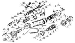 Фланец прижимной  внутренний нарезчика швов RK 500 №20