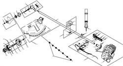Выключатель зажигания триммера Калибр БК-750 (рис. 1-5) - фото 13998