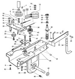 Шпонка культиватора Al-ko MH 5001 R (рис. 1) - фото 14157