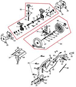 Втулка вертикального вала культиватора Champion GC 243 (рис. 10) - фото 14599