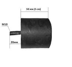 Подушка-амортизатор виброплиты 50-100 кг - фото 14718