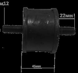 Подушка-амортизатор виброплиты 150-210 кг - фото 14725