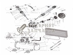 Головка цилиндра компрессора Sturm AC931031-34