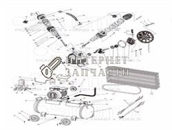 Мотор компрессора Sturm AC931031-63