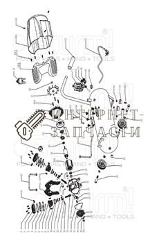 Корпус выключателя компрессора Sturm AC93104-42
