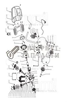 Защита задняя компрессора Sturm AC93104-45