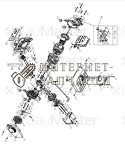 Рычаг регулятора генератора BauMaster PG-8709X-16
