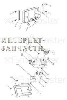 Плата в сборе генератора BauMaster PG-8710IXX-N-3