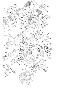 Зажим Провода пилы торцовочно - усовочной Корвет 3 (рис.86) - фото 20105
