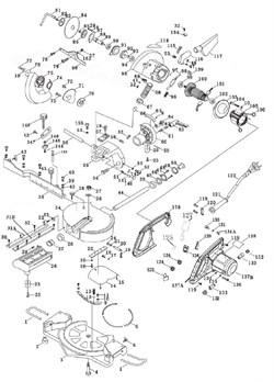 Корпус электродвигателя пилы торцовочно - усовочной корвет 4 (рис.137В)