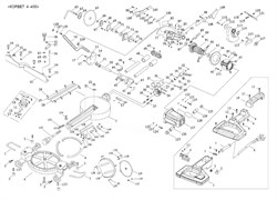 Фиксатор пилы торцовочно - усовочной корвет 4-430 (рис.151) - фото 20859